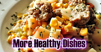 more healthy dishes