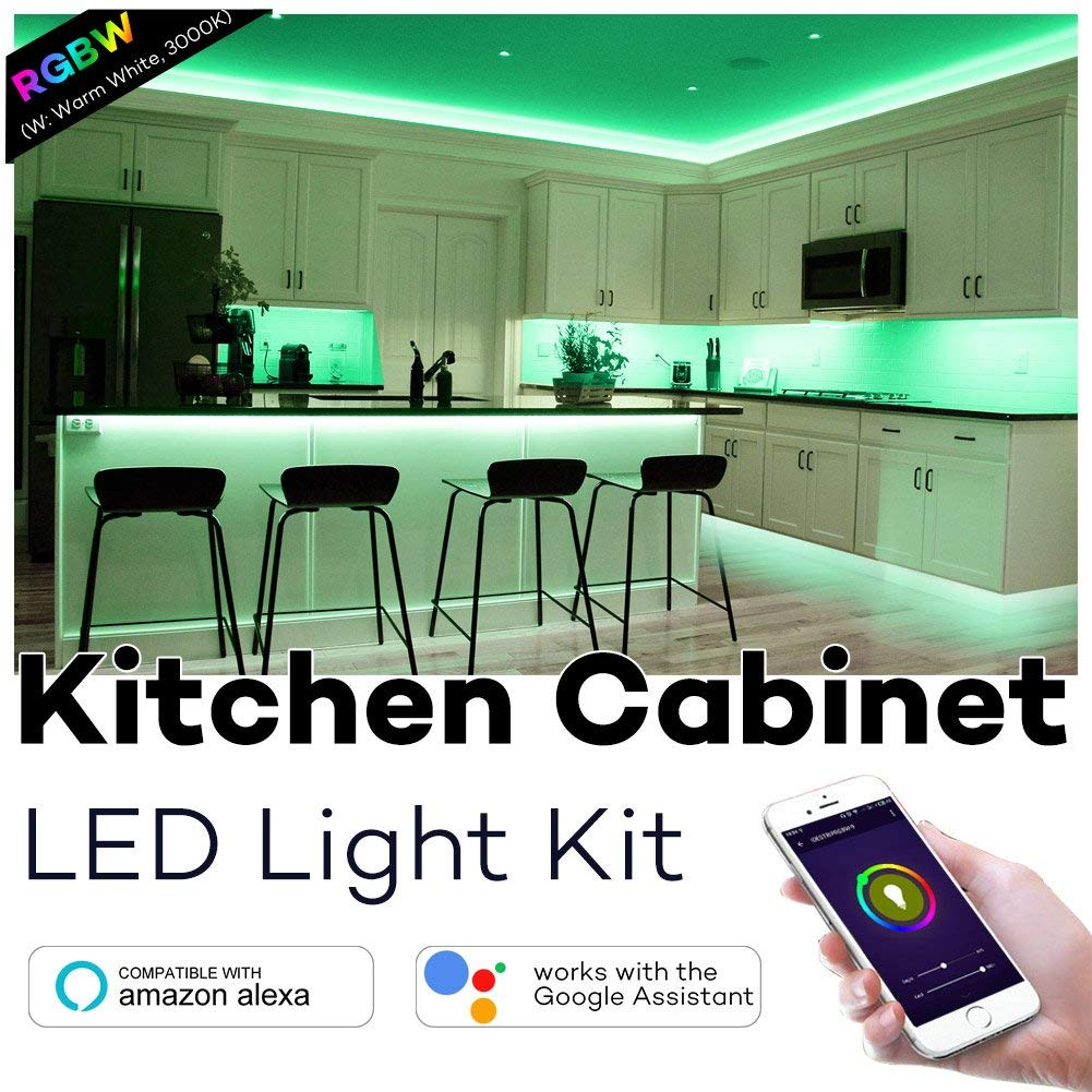 Best Wifi Controlled Kitchen Cabinet Lighting | High Tech